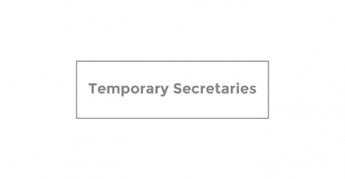 Temporary Secretaries