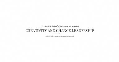 Distance Master's Program in Europe Creativity and Change Leadership
